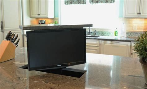 Counter Tv For Kitchen by Tv Swivel Concepts Practical And For Modern