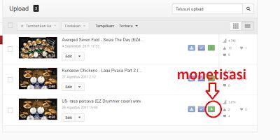cara upload video di youtube menghasilkan uang cara menghasilkan uang dengan upload video ke youtube