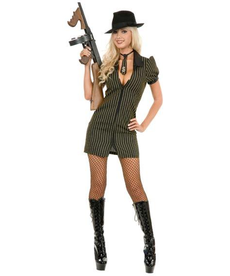 Dress Mol Gangster Moll Costume Gangster Moll Dress