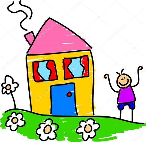 house  boy stock vector  prawny