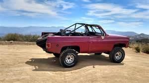 jimmy oliver s 1973 chevy k5 blazer prerunner lmc truck