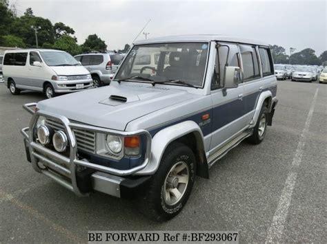 motor auto repair manual 1989 mitsubishi pajero auto manual used 1989 mitsubishi pajero q l149gwg for sale bf293067 be forward