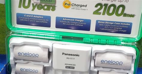 aa battery and charger panasonic eneloop rechargeable batteries and charger model