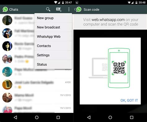 tutorial 2lines for whatsapp web version of whatsapp now available blog uptodown en