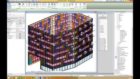 revit tutorial facade case study 3 part a a modular facade in revit doovi