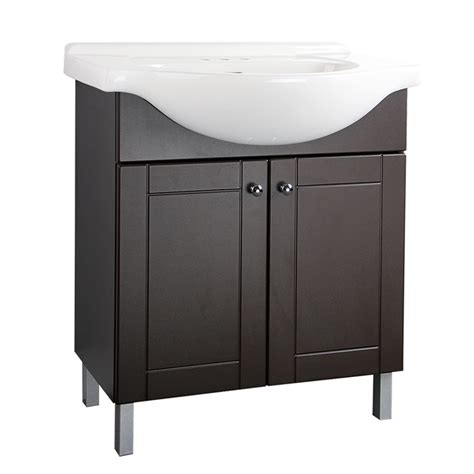 Rona Bathroom Vanities Canada Facto Two Door Vanity Chocolate R 233 No D 233 P 244 T