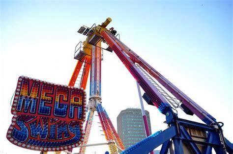 wonderland swing ride cardiff winter wonderland replaces sky swing that broke