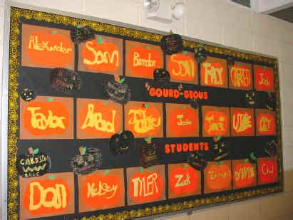 fall bulletin boards & classroom ideas archives