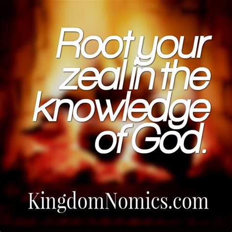 zeal of the convert root your zeal in the knowledge of god
