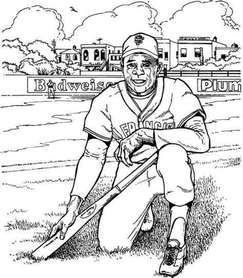 Sf Giants Coloring Pages San Francisco Giants Coloring Pages