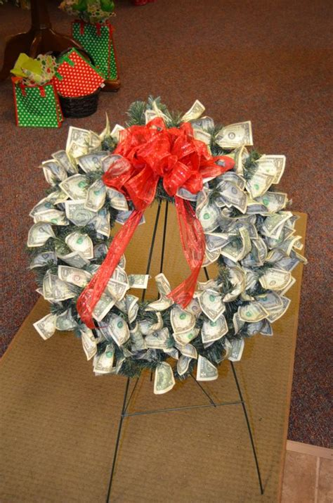 Money Origami Wreath - money origami wreath 28 images money origami wreath