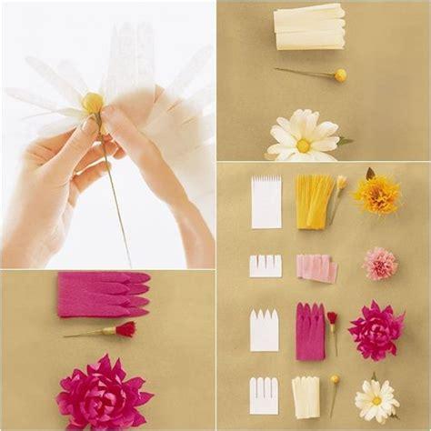 como hacer flores de papel crepe faciles y bonitas youtube flores de papel sencillas para hacer con ni 241 os y decorar
