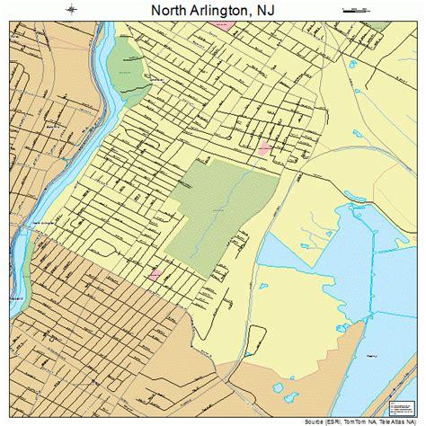 Arlington Nj arlington new jersey map 3452320