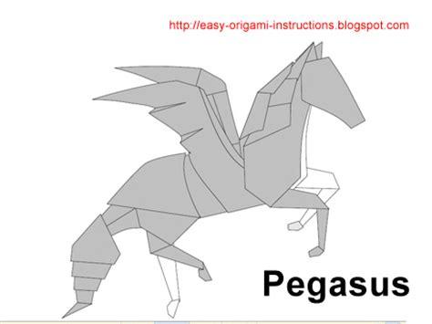 Pegasus Origami - origami pegasus origami