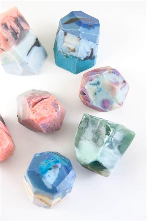 Soaprocks Gemstone Soaps by How To Make Diy Soap Rocks