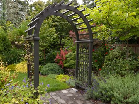 Garden Arch Narrow 18 Garden Arbor Designs Ideas Design Trends Premium