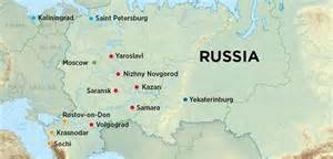 world cup host cities map hosting two major sports events russia urbanplanet