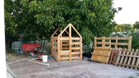 casas de madera ni os casa para ni 241 os de madera a partir de palet youtube