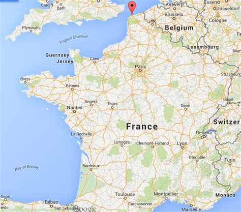 calais map where is calais on map world easy guides