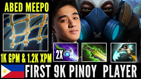 Dota Player abed dota 2 meepo 9k player best meepo player