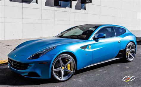 matte blue spotlight matte blue ff on cec wheels