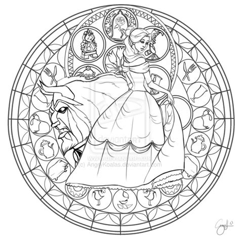kingdom hearts coloring pages stained glass 1000 images about disney stained glass lineart on