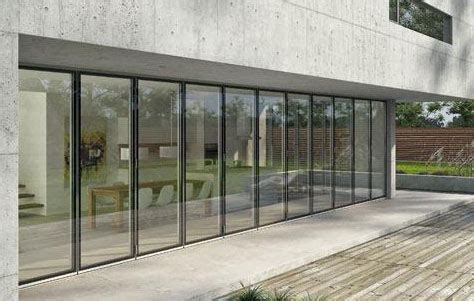3rings Folding Glass Doors By Solarlux Large Folding Glass Doors
