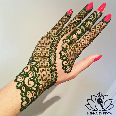 modern henna tattoo designs 8 035 likes 111 comments divya patel hennabydivya on