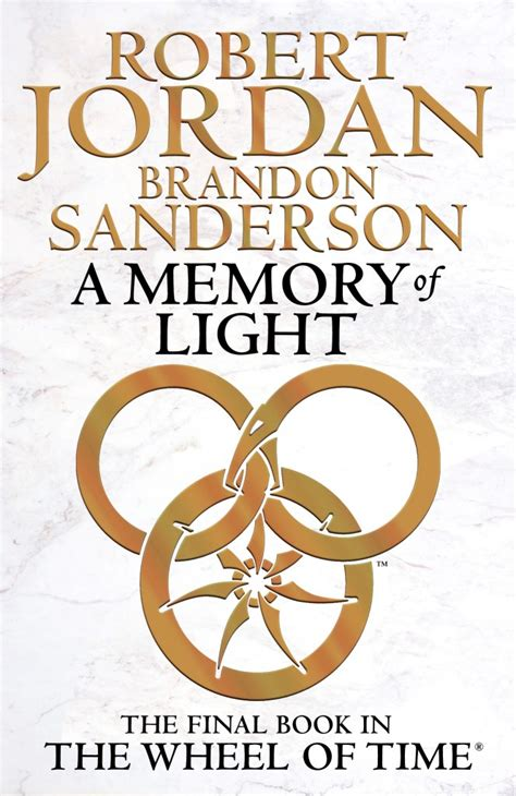 a memory of light cover reveal a memory of light by robert jordan and