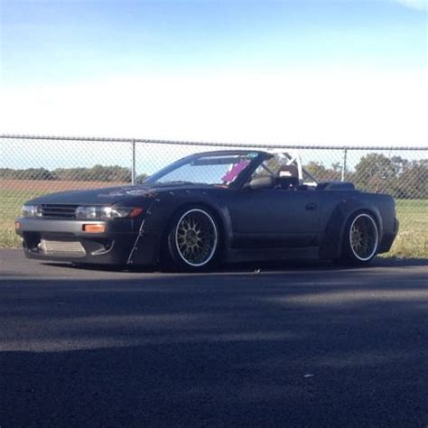240sx rocket bunny convertible s13 drift car for sale