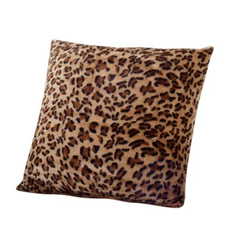 leopard couch covers soft square leopard printed sofa throw pillow cover