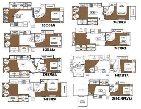 Free Floorplan by Roaming Times Rv News And Overviews