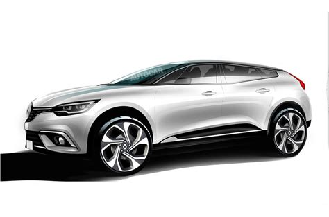renault suv concept renault plots new suv coup 233 autocar