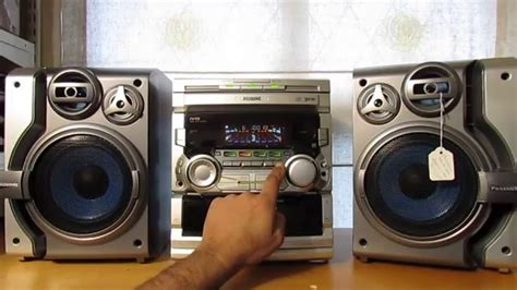 mini stereo system with cassette player philips hifi stereo system 3 cd changer dual cassette