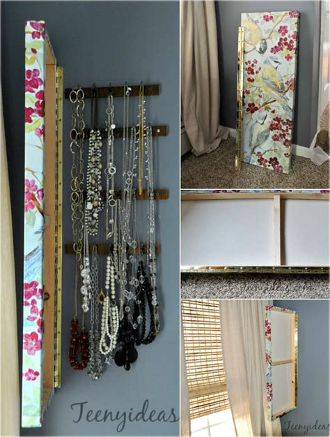 Diy The Door Jewelry Organizer by 100 Diy Jewelry Organizers Storage Ideas