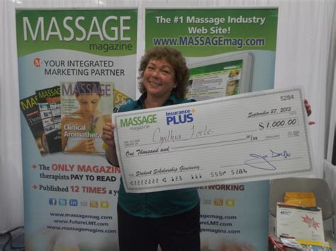 Scholarship Giveaway - massage magazine insurance plus announce winners of student scholarship giveaway