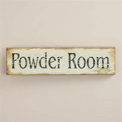 powder room wall world market