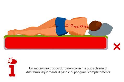 materasso e mal di schiena materasso ortopedico mal di schiena