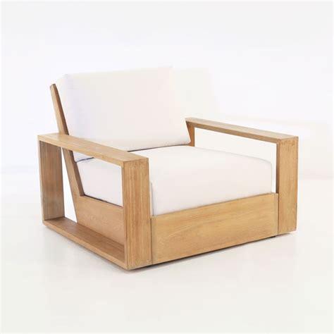 Outdoor Club Chair by Kuba Teak Outdoor Club Chair Patio Lounge Furniture