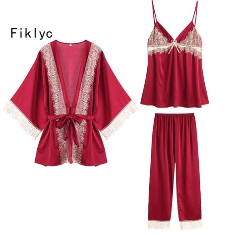 Patchwork Pajama - aliexpress buy fiklyc brand sleeve s lace