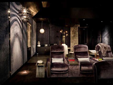 home theater design jobs stylish comfortable home theater kari whitman hgtv