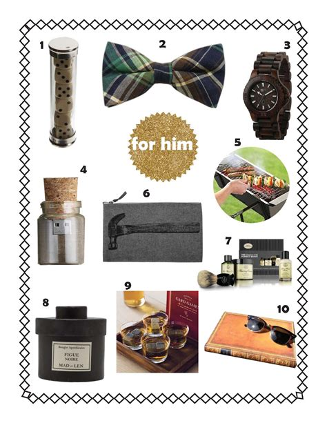 gifts for him holiday gift guide for her for him kishani perera