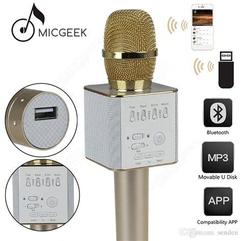 Diskon Mic Q9 Micgeek Bluetooth Wireless Ktv Karoke Q7 Tuxun 100 original and authentic micgeek q9 bluetooth