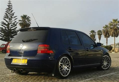 volkswagen golf blue the gallery for gt vw golf mk4 stance