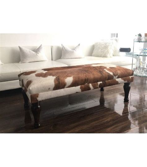 cowhide coffee table ottoman best 25 cowhide ottoman ideas on cowhide