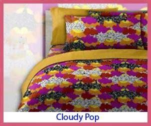 Sprei Katun Panca Uk 200x100 motif sprei cloudy pop sprei bed cover shop