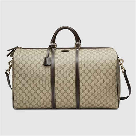 Gucci Duffle Bag gucci large carry on duffle bag in for lyst