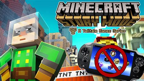 ps3 themes minecraft story mode where is minecraft story mode ps vita youtube