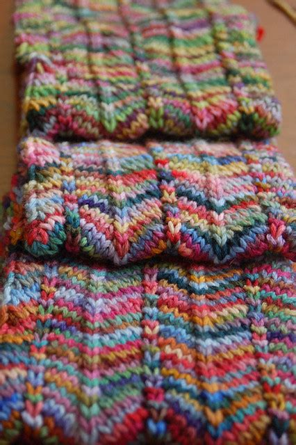 scarf pattern variegated yarn chevron scarf chevron scarves scarf patterns and scarves