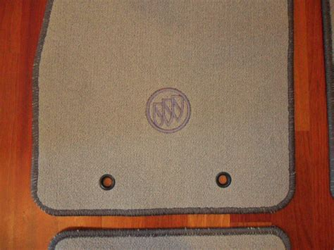 Buick Lucerne Floor Mats by New Oem Carpeted Carpet Floor Mats Rug Titanium For Buick